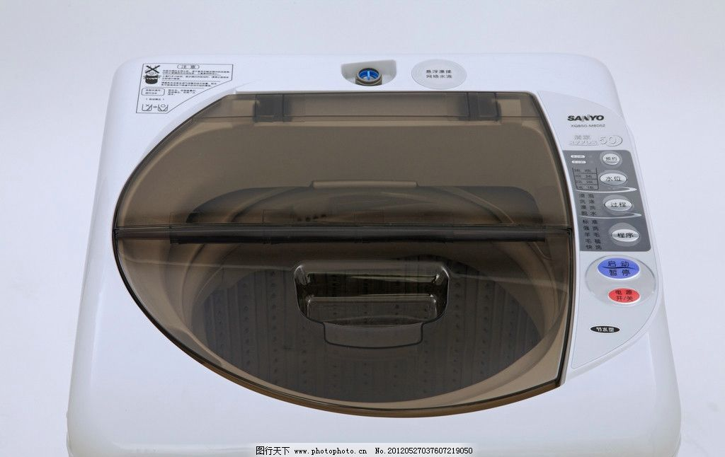 三洋全自动洗衣机图片