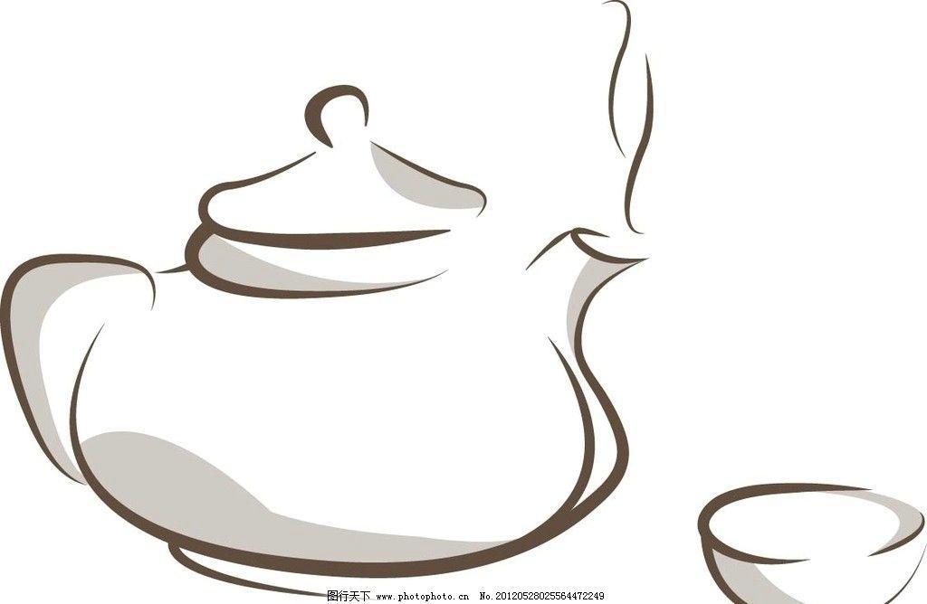 茶壶茶杯 茶壶 茶杯 泡茶 老人茶 简单 卡通 茶道 生活用品 生活百科