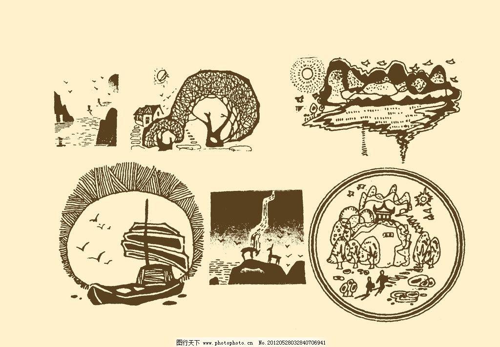 风景装饰画图片