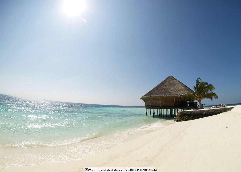 高清马尔代夫摄影照片 旅游 度假 休闲 热带 海滩 沙滩 海岛