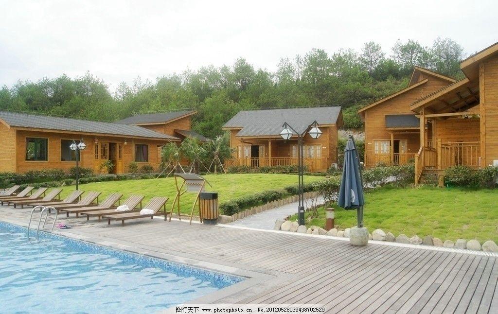 木结构建筑图片