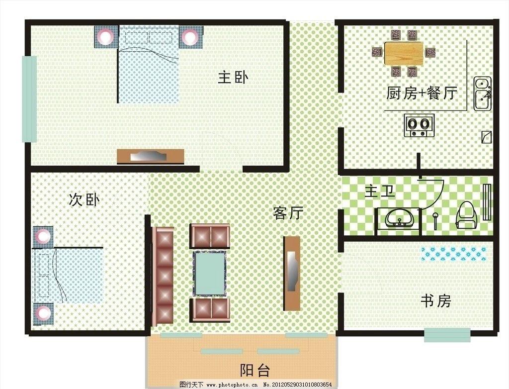 室内平面设计图图片