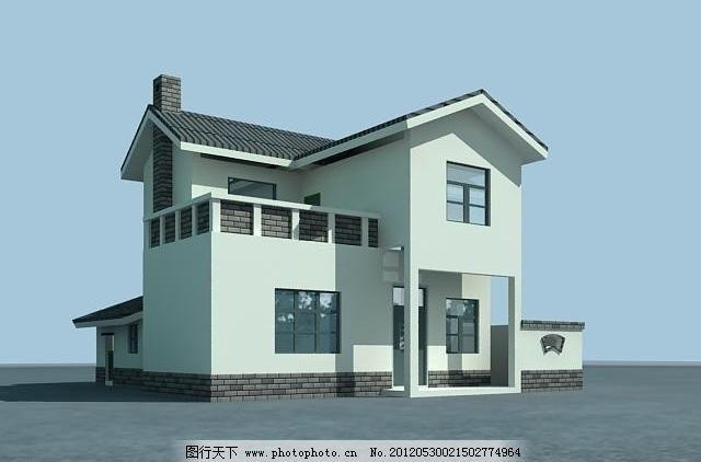 农村别墅图片_其他_3d设计_图行天下图库