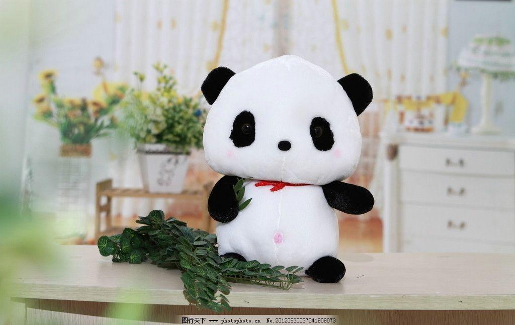 可爱小熊猫图片