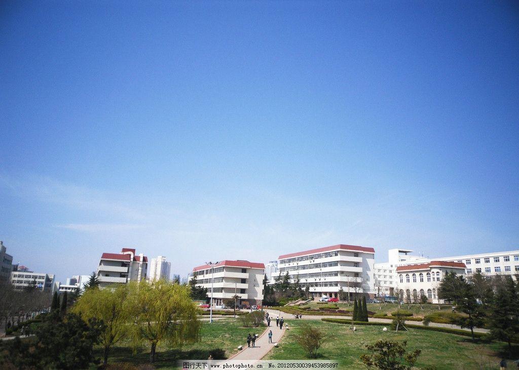 青岛大学 中心东院 建筑 高楼 教学楼 建筑摄影 建筑园林 摄影 96dpi