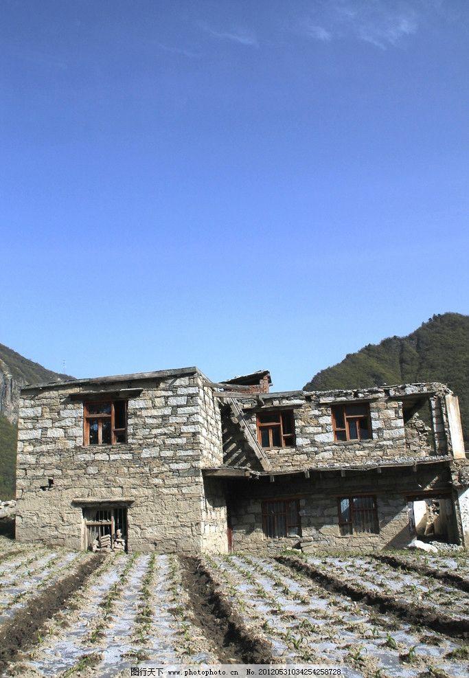 建筑 藏族房屋 人文景观 摄影