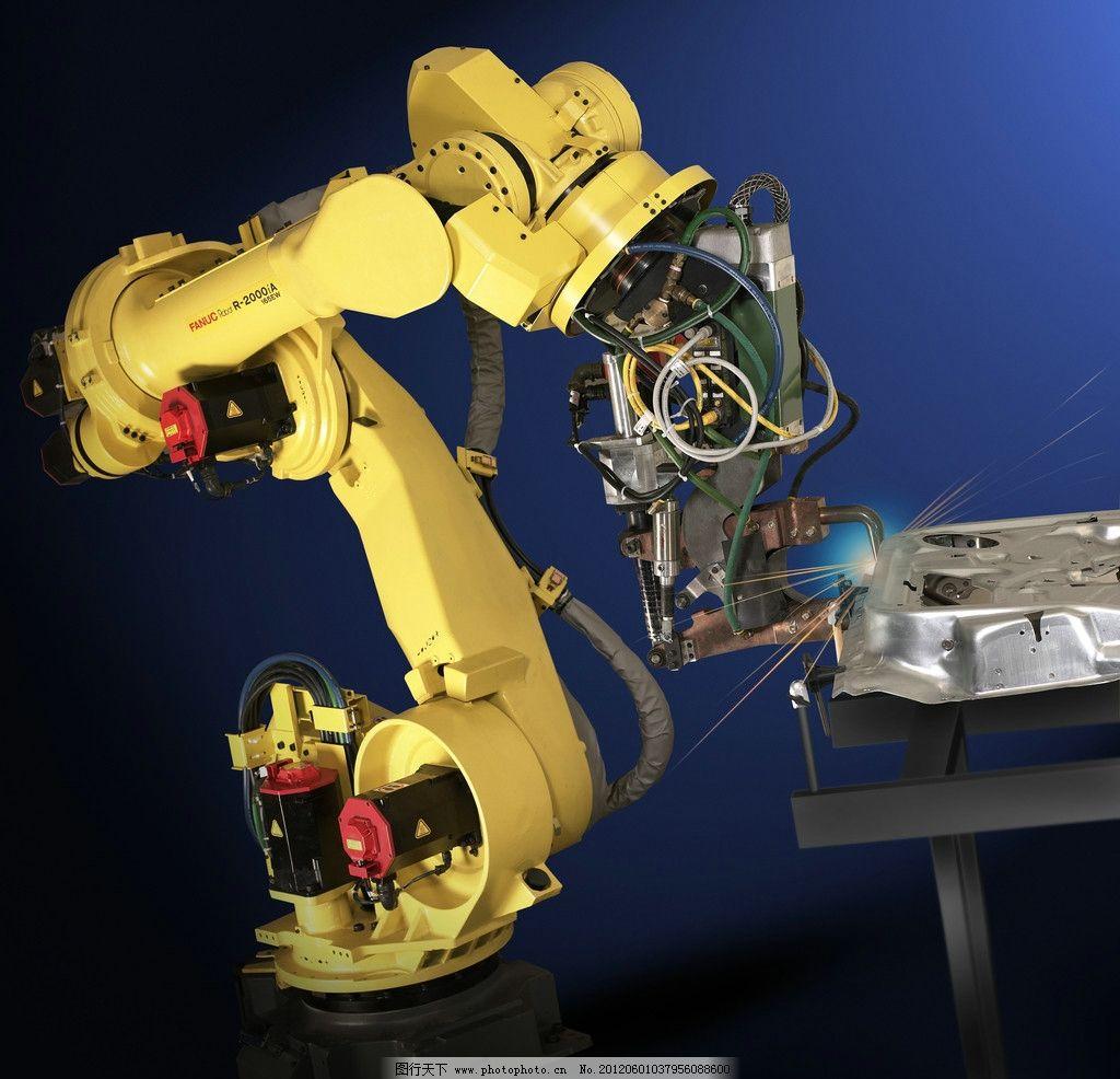 机器人 自动化 视觉系统 机械手臂 机器制造 工业生产 现代科技 摄影