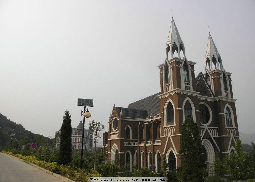 教堂 婚礼教堂 欧式风格教堂