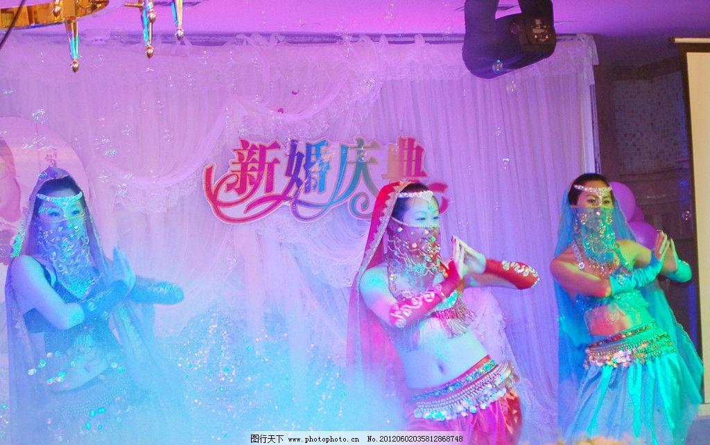 印度舞 婚礼现场 婚礼表演图片