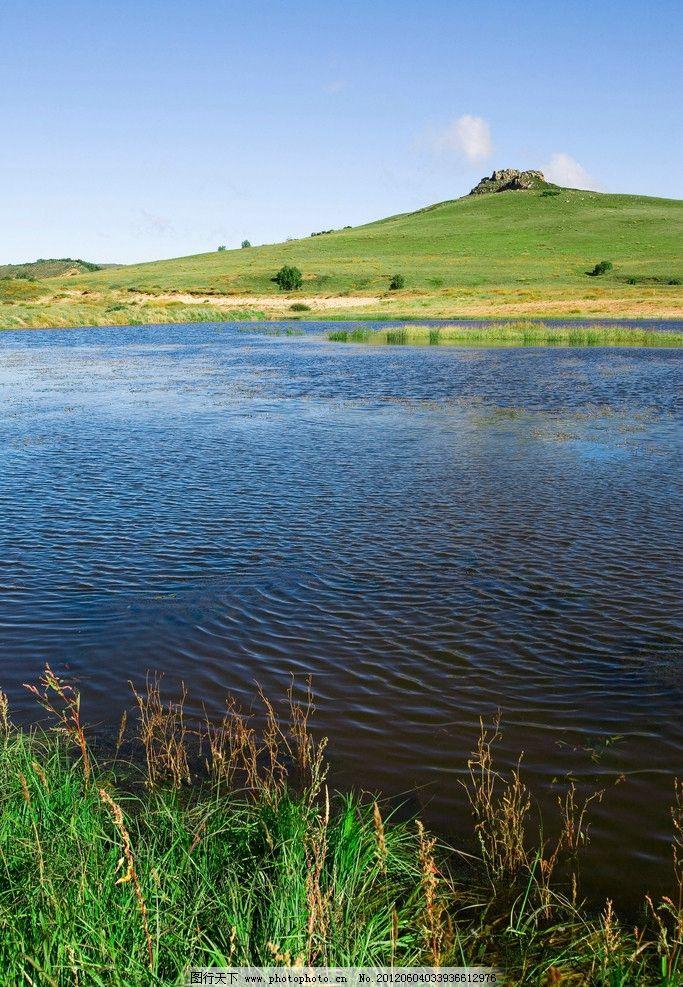 乌兰布统草原 内蒙古自治区 乌兰木通 大草原 绿草 嫩草 草地