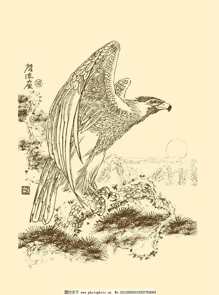 麋鹿简笔画 手绘内容图片展示