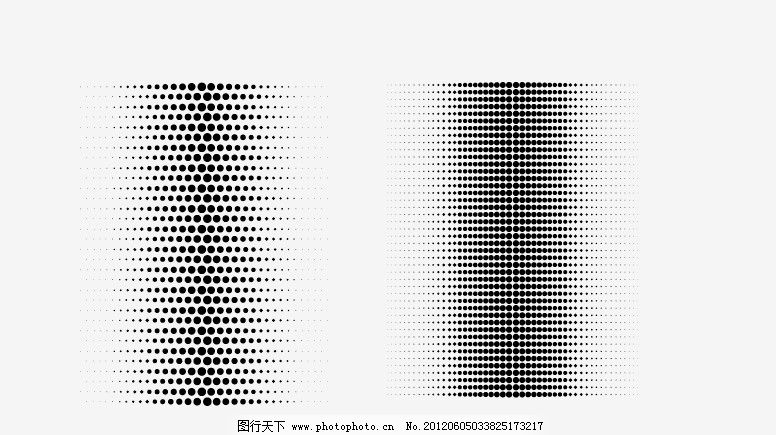 渐变点点 大小点 圆点 点点 渐变 矢量素材 其他矢量 矢量 ai