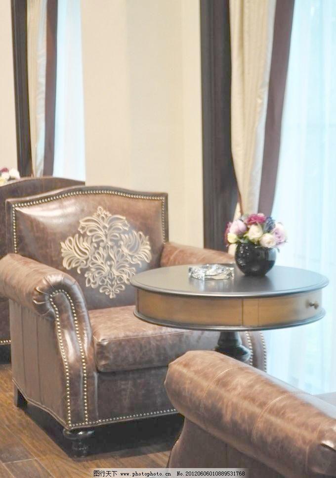 别墅家具 家居生活 沙发 摄影 生活百科 欧式美式沙发 曼洛尼图片素材图片