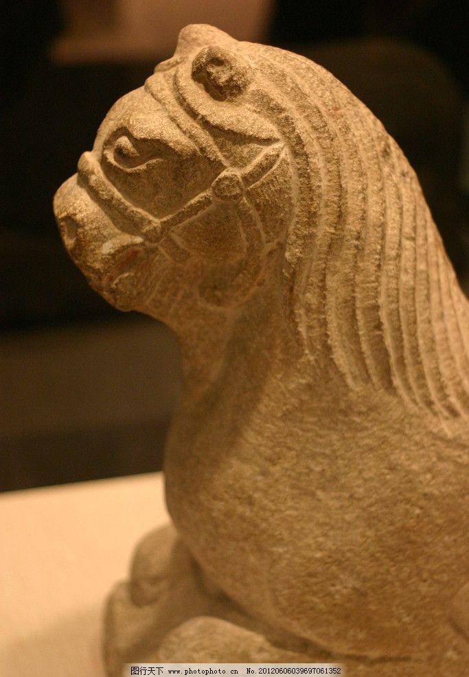 雕塑狮子动物艺术图片