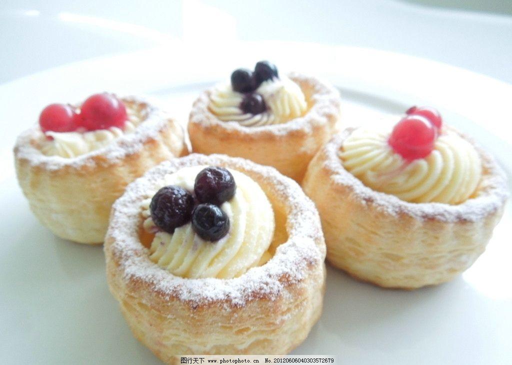 西式甜品 小蛋糕 西餐美食