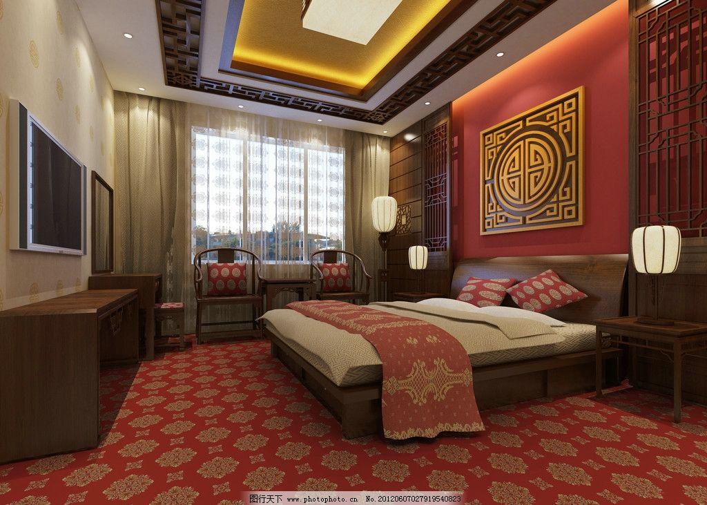 卧室 装修效果图 家装 房屋 室内 房屋装修 装饰 装潢 床 地毯