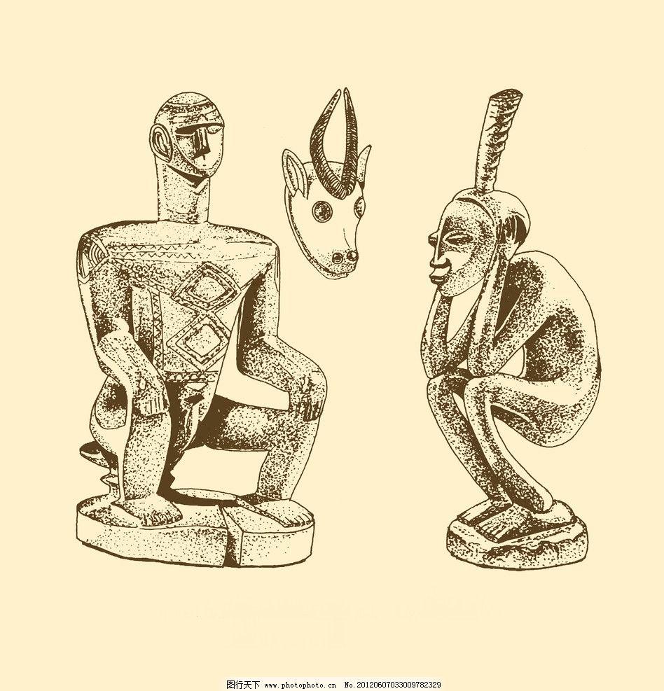 石像 雕刻 木刻