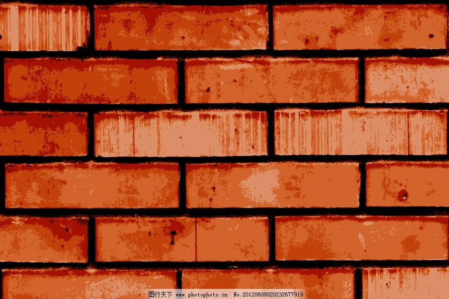 砖头墙壁图片_背景底纹_底纹边框_图行天下图库