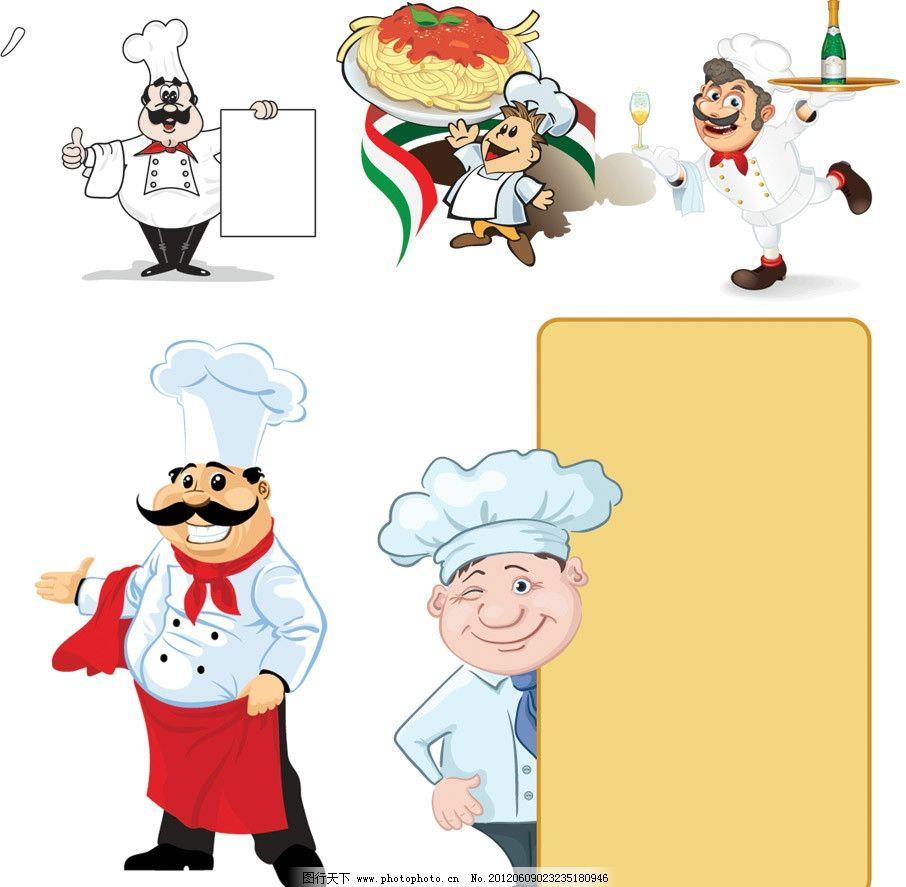 快手厨师背影头像