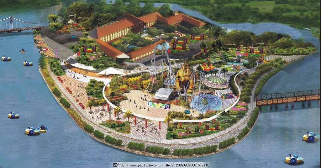 游乐场设计图片