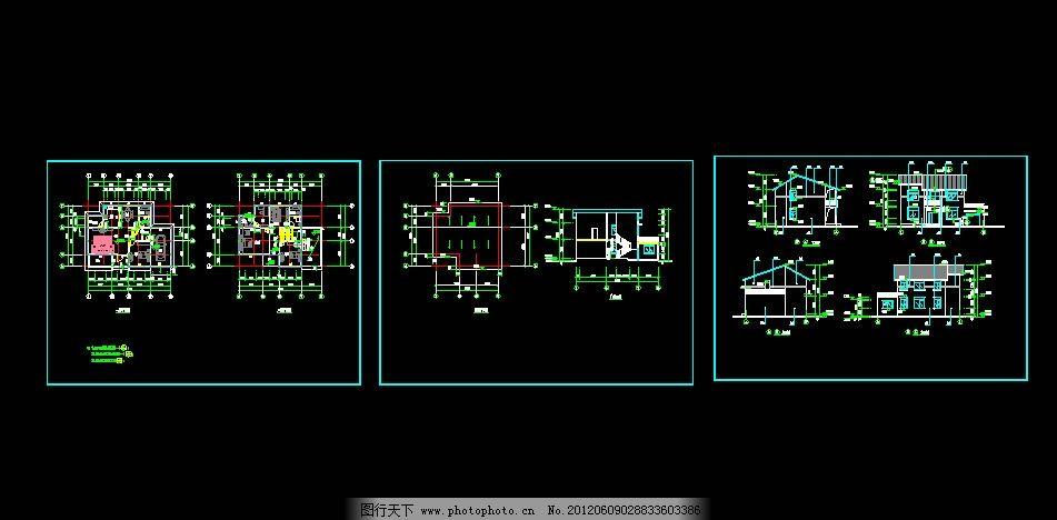 钢结构两层别墅设计图片