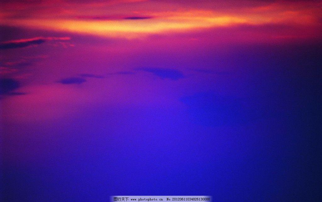 黄昏 天空图片