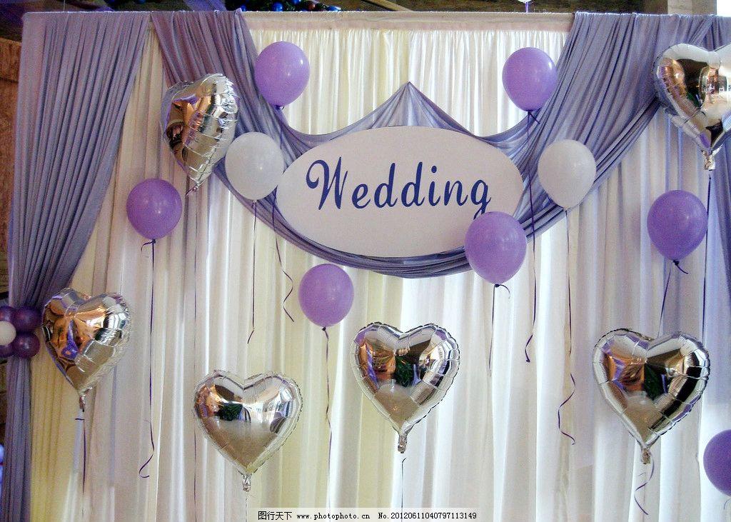 婚宴签到背景 背景 婚礼 紫色 气球 结婚 其他 餐饮美食 摄影 180dpi