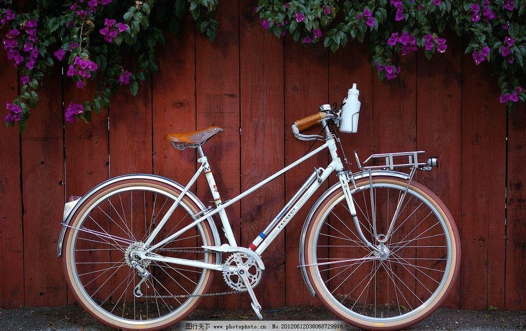 自行车图片_交通工具_现代科技_图行天下图库