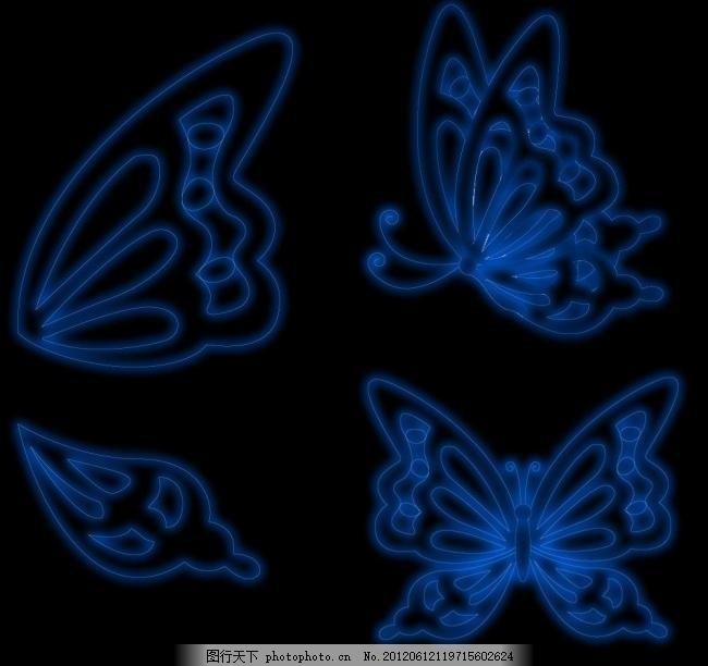 蝴蝶 黑色