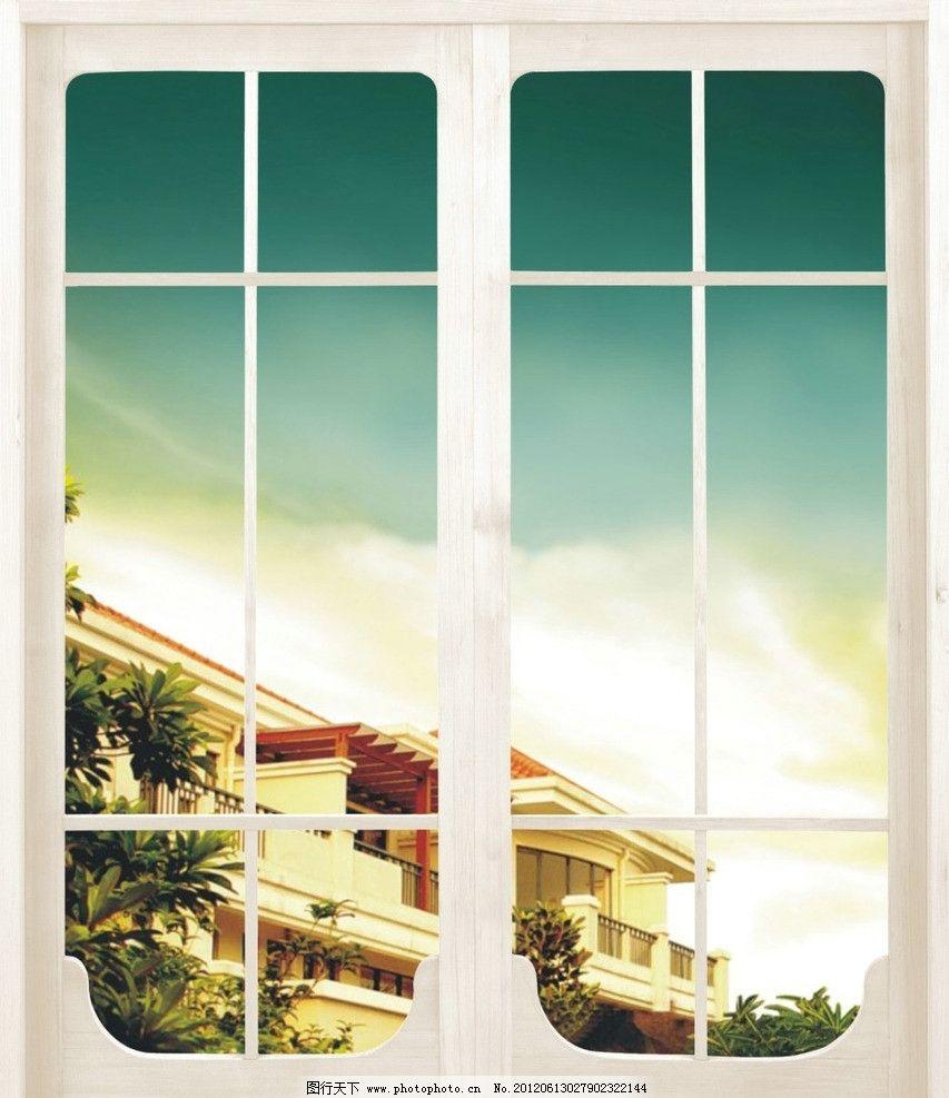 诺尔丽假窗 假窗 窗口 风景 欧式 欧式窗 窗户 室内设计 建筑家居