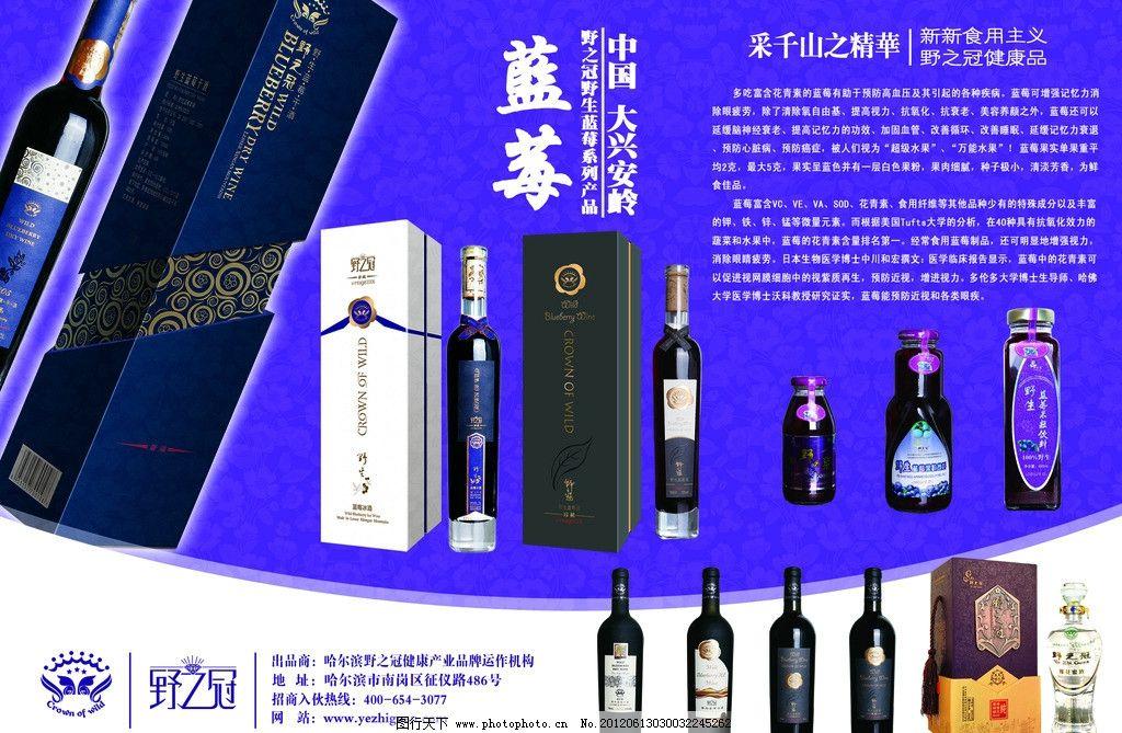 蓝莓酒海报 蓝莓 蓝莓酒 蓝莓海报 海报设计 广告设计模板 源文件 300