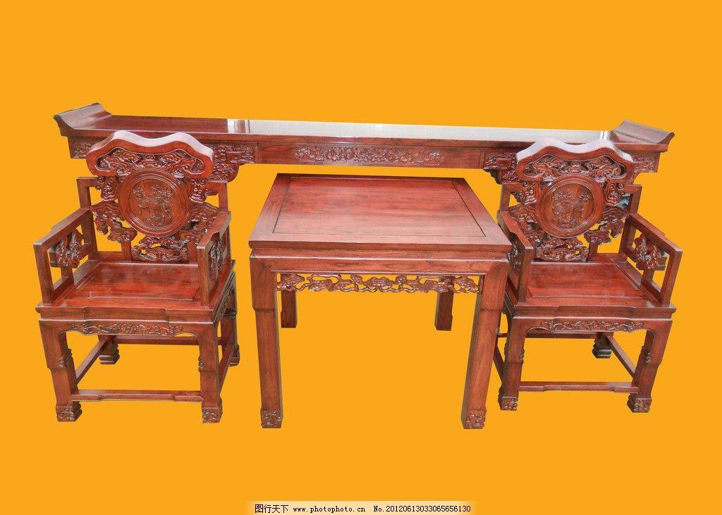 古典家具红木中堂图片