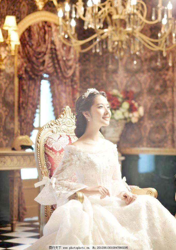 欧式婚纱图片免费下载