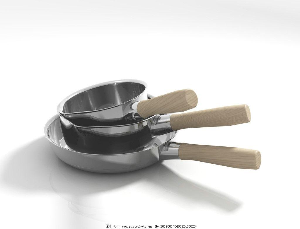 锅具 木头手柄