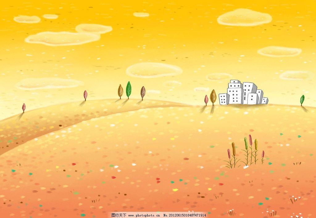 金色天空背景图图片