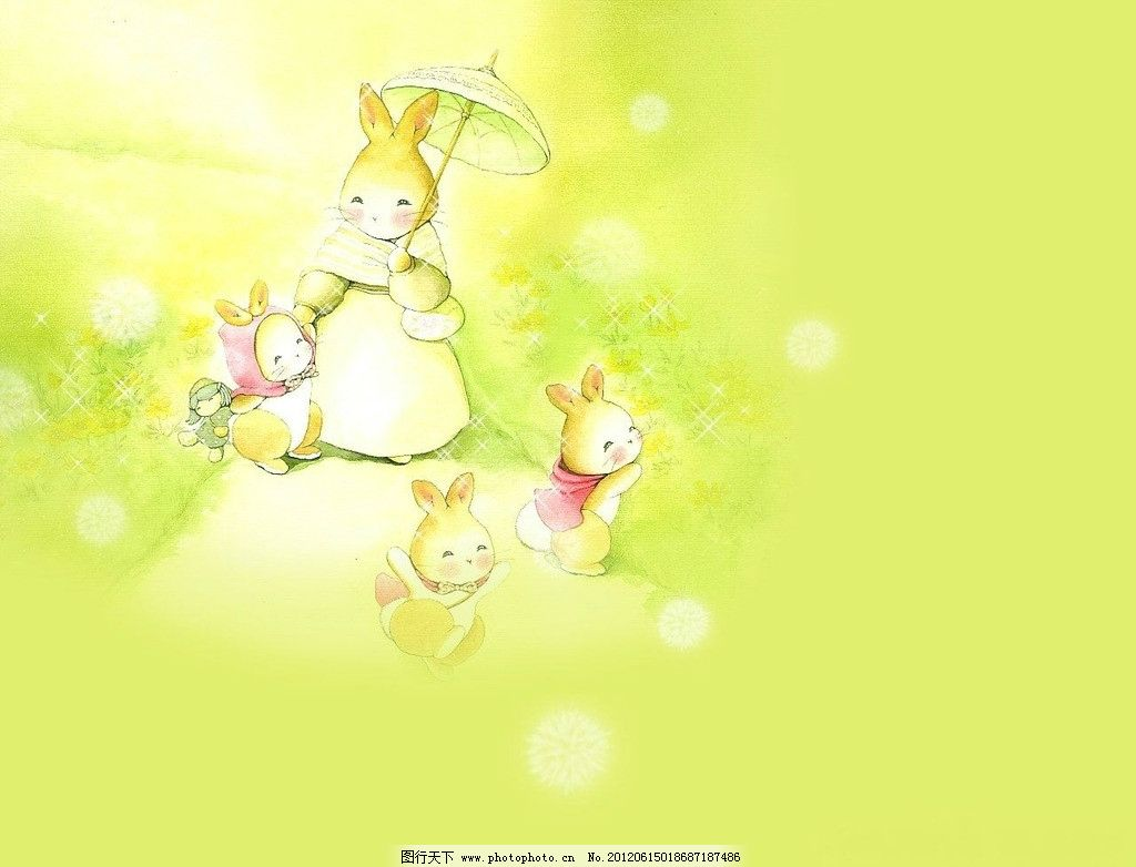 可爱兔子之家图片