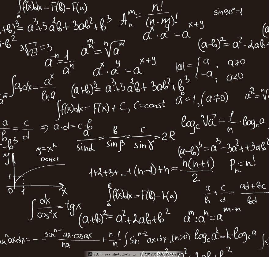 数学所有的公式和符号