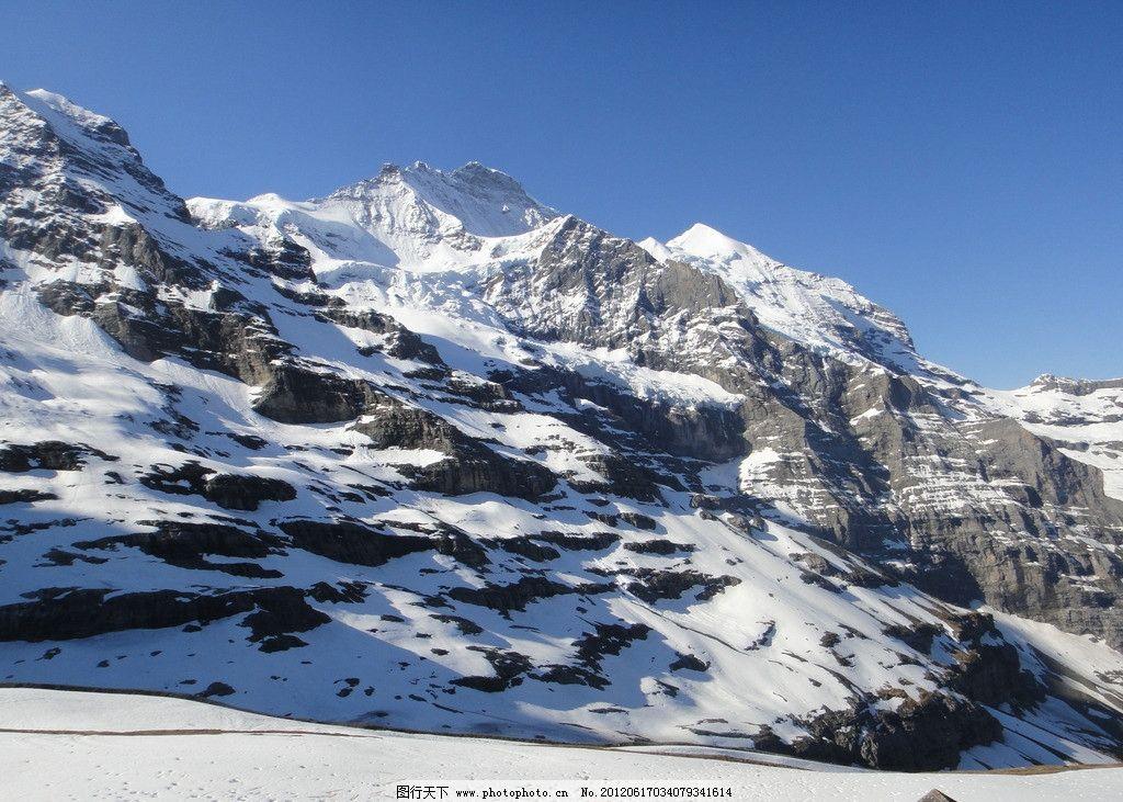 少女峰图片,欧洲 瑞士 雪景 旅游 景点 瑞士少女峰-图