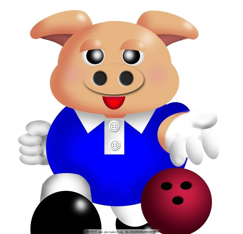 头像中的一个粉色小猪的头像