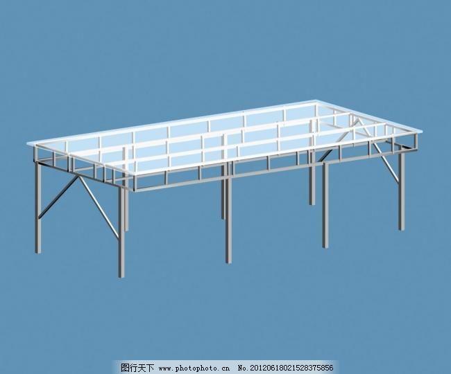 钢结构停车棚图片