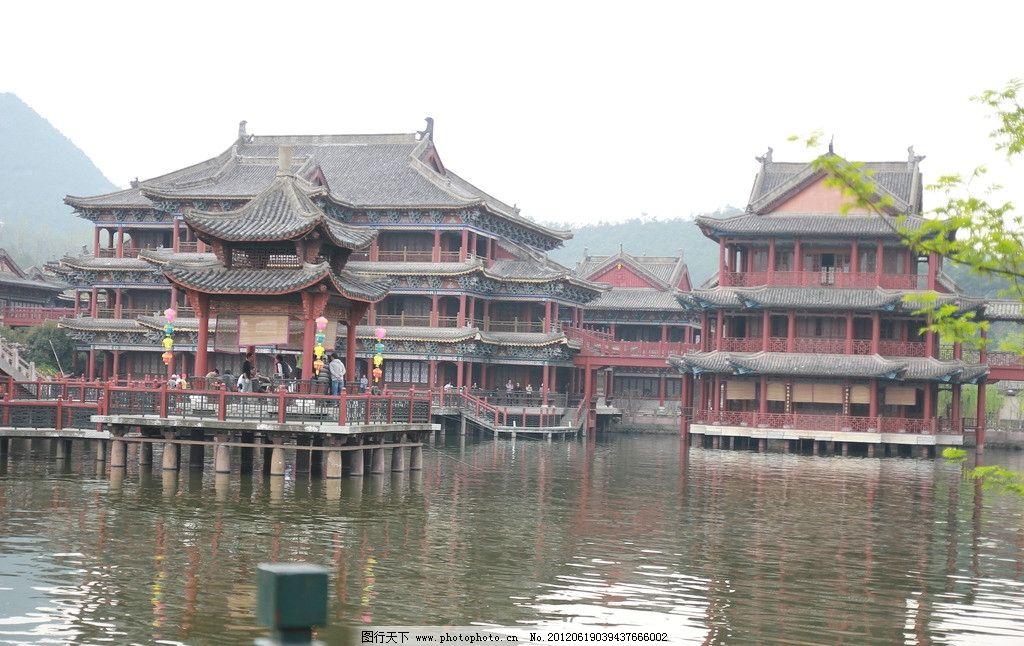 古代建筑 古代 古代房子 房子 垂柳 建筑攝影 建筑園林 攝影 72dpi jp