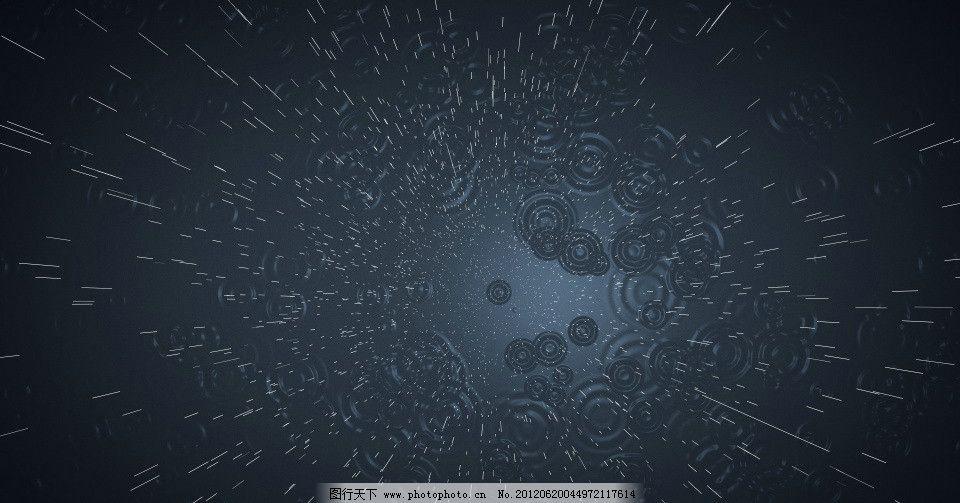 下雨动态视频 视频动态 雨点 视频剪辑 多媒体设计 源文件