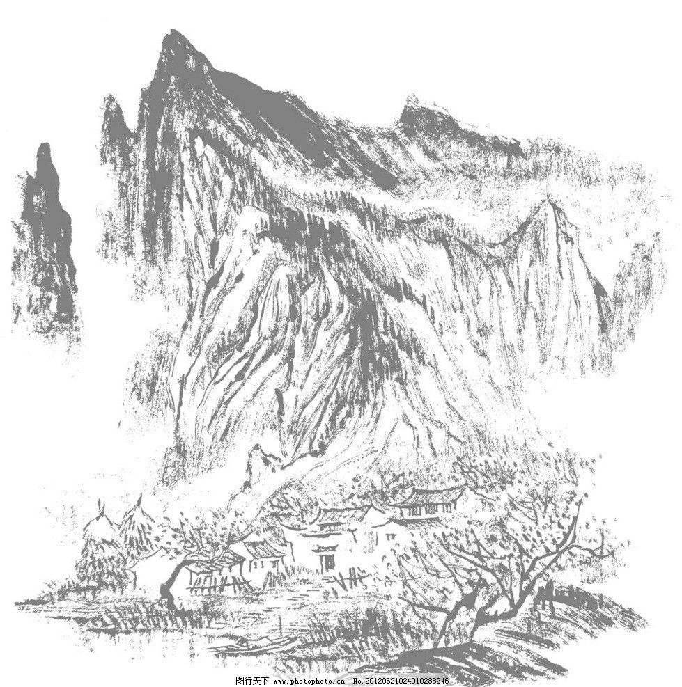 山水画图片图片