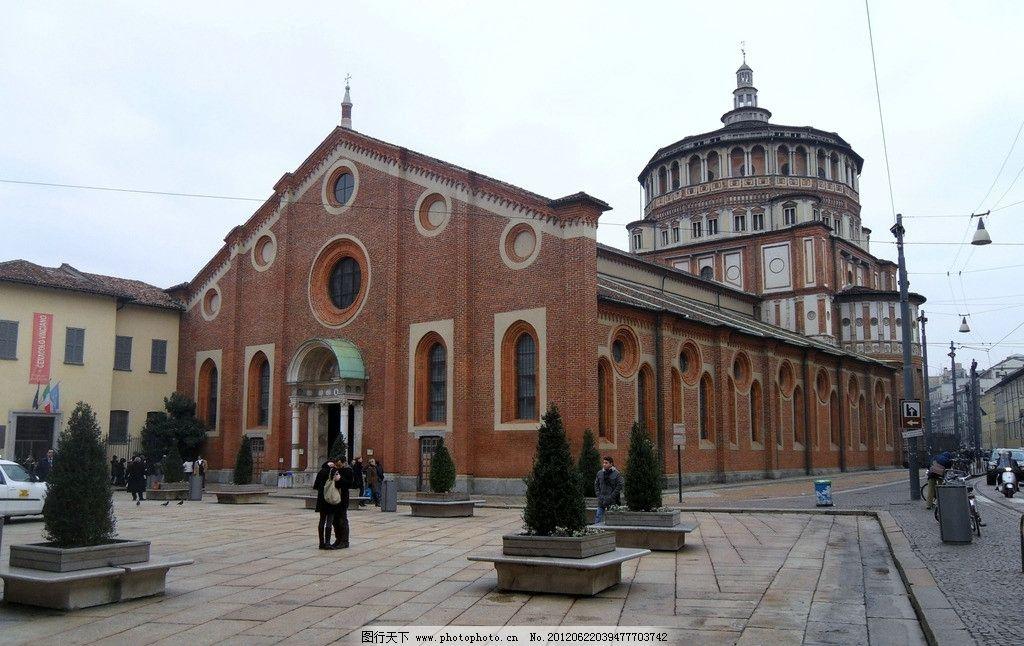 国外欧式风格建筑摄影图片