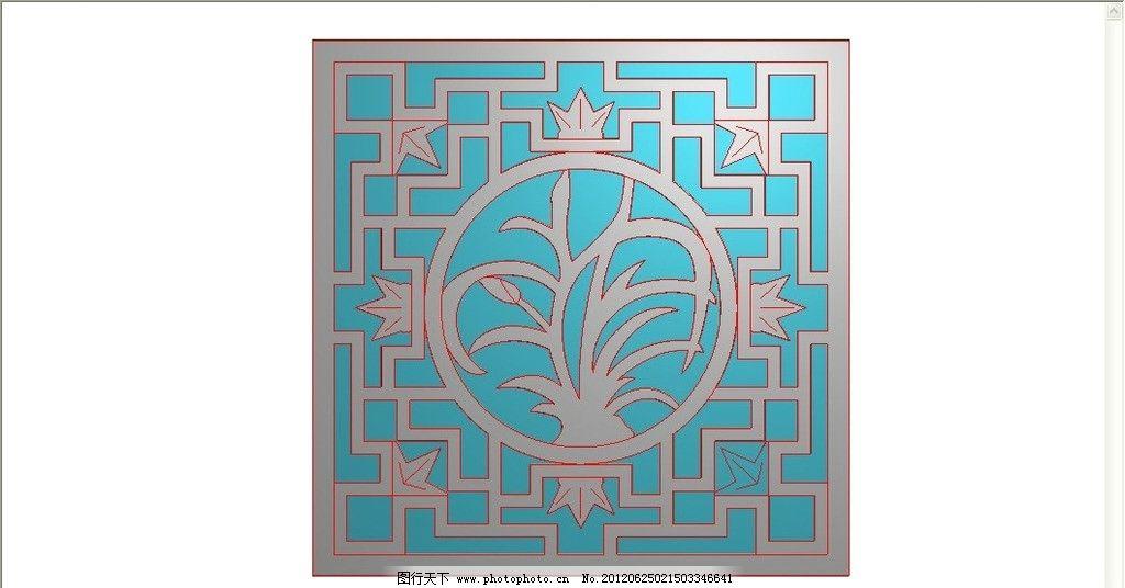 中式花格 精雕图 镂空图片