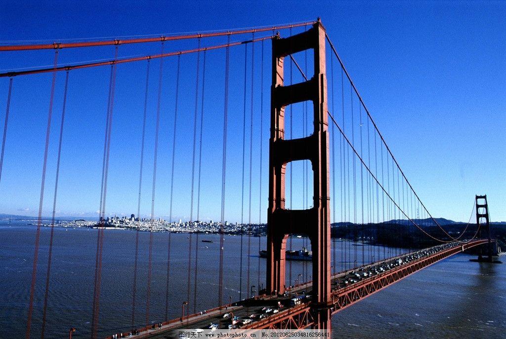 大桥 大桥大海 自然风景
