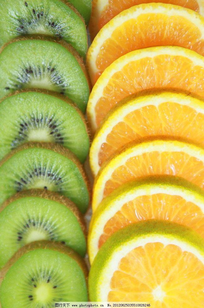 水果微距图片