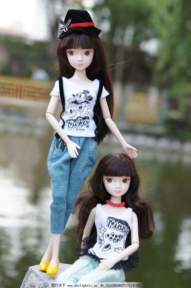 甜美 可爱 阳光 聪慧 梦幻 迪士尼 米奇 米妮 传统文化 民族 中国娃娃