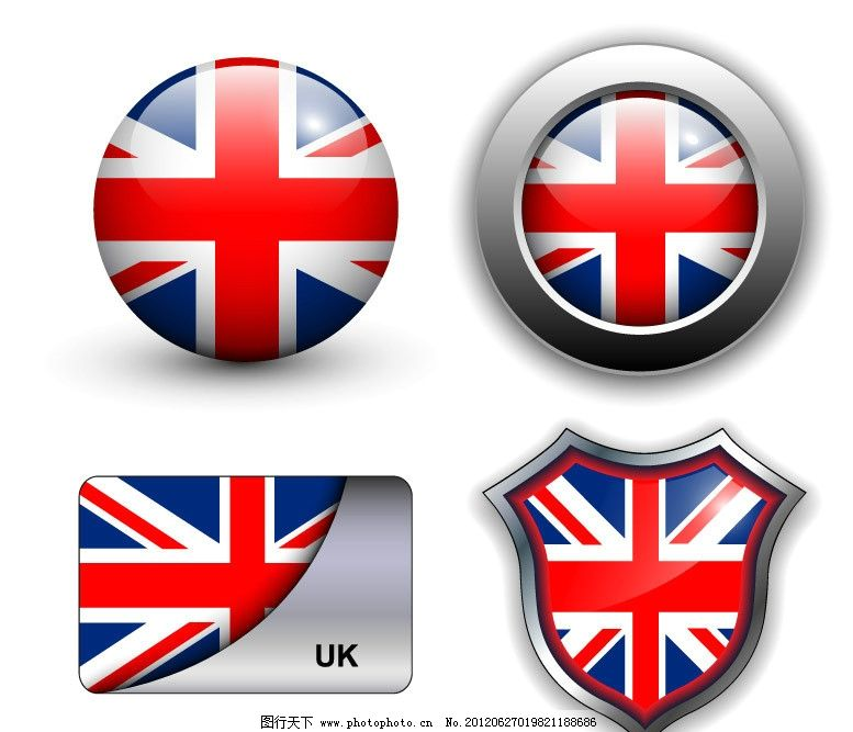 国旗 标志 标识 按钮 盾牌 卡片 圆形 光滑 手绘 矢量 国旗标志 公共