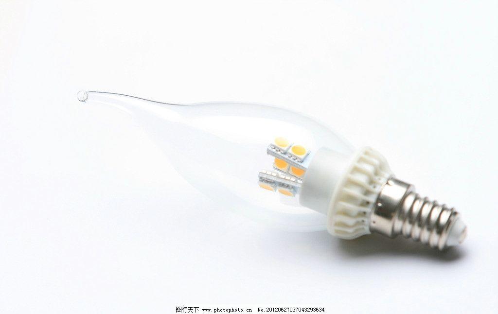 led蜡烛灯 led灯泡 白炽灯 球泡灯 生活素材 生活百科 摄影 72dpi jpg